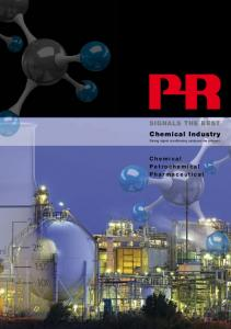 SIGNALS THE BEST. Chemical Industry. Strong signal conditioning catalyzes the process. Chemical Petrochemical Pharmaceutical