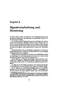 Signalverarbeitung und Steuerung