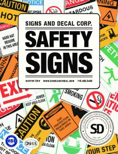 SIGNS AND DECAL CORP