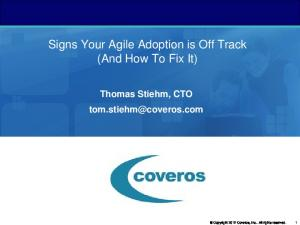 Signs Your Agile Adoption is Off Track (And How To Fix It)
