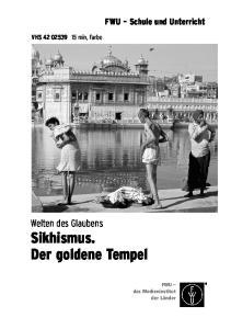 Sikhismus. Der goldene Tempel