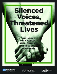 Silenced Voices, Threatened Lives