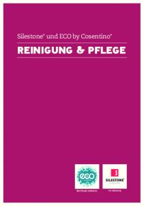 Silestone und ECO by Cosentino. Reinigung & Pflege THE ORIGINAL