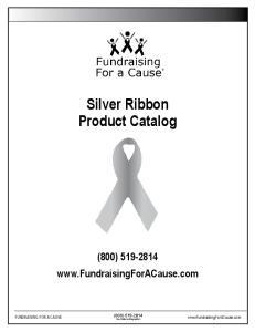 Silver Ribbon Product Catalog