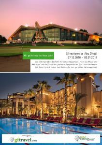 Silvesterreise Abu Dhabi