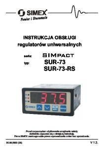 SIMpact SUR-73 SUR-73-RS