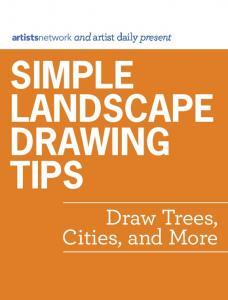 simple landscape drawing tips