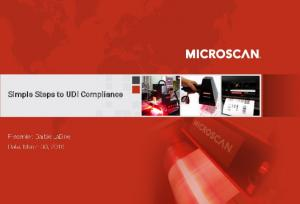 Simple Steps to UDI Compliance