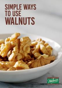 SIMPLE WAYS TO USE WALNUTS