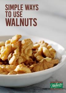 SIMPLE WAYS TO USE WALNUTS