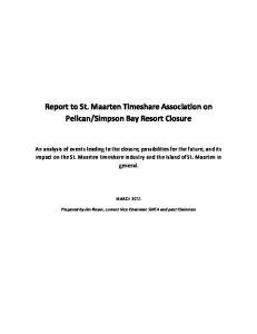 Simpson Bay Resort Closure