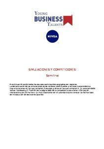 SIMULACIONES Y COMPETIDORES: Semifinal