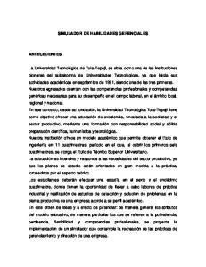 SIMULADOR DE HABILIDADES GERENCIALES