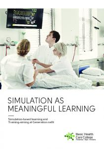 SIMULATION AS MEANINGFUL LEARNING