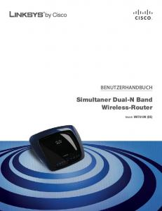 Simultaner Dual-N Band Wireless-Router