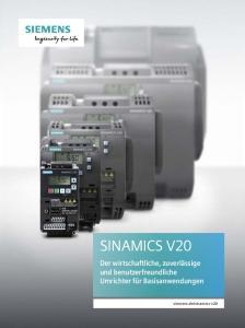 sinamics-v20