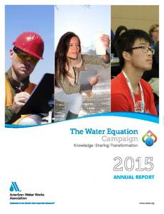 Since 1881, the American Water Works Association has been the constant variable in solving the water equation
