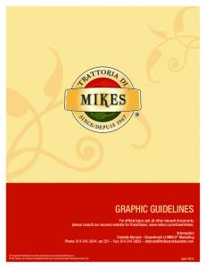 Since 2007, several Trattoria di Mikes restaurants have opened using advertising materials that carry the new logo