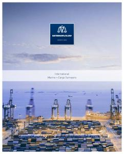 SINCE International Marine + Cargo Surveyors