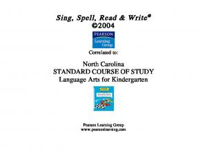 Sing, Spell, Read & Write 2004
