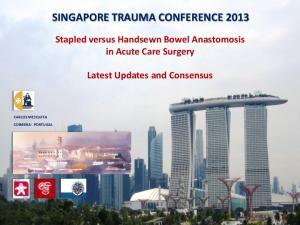 SINGAPORE TRAUMA CONFERENCE 2013