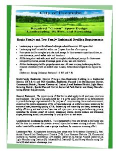 Single-Family and Two-Family Residential Dwelling Requirements
