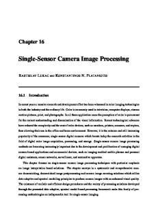 Single-Sensor Camera Image Processing