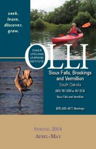 Sioux Falls, Brookings and Vermillion. seek. learn. discover. grow. South Dakota. (605) or Sioux Falls and Vermillion