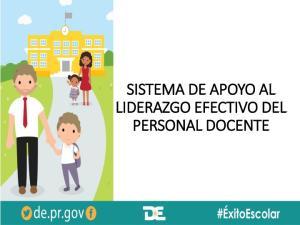 SISTEMA DE APOYO AL LIDERAZGO EFECTIVO DEL PERSONAL DOCENTE