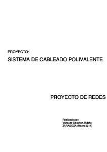 SISTEMA DE CABLEADO POLIVALENTE