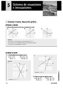 Sistema de ecuaciones e inecuaciones