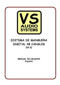 SISTEMA DE MANGUERA DIGITAL 48 CANALES