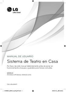 Sistema de Teatro en Casa