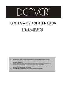 SISTEMA DVD CINE EN CASA