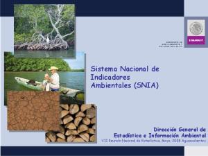 Sistema Nacional de Indicadores Ambientales (SNIA)