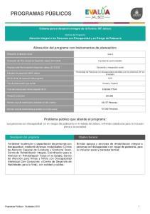 Sistema para el desarrollo Integral de la Familia DIF Jalisco. Nombre del Programa:
