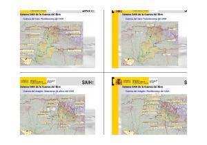 Sistema SAIH de la Cuenca del Ebro. Sistema SAIH de la Cuenca del Ebro. Sistema SAIH de la Cuenca del Ebro. Sistema SAIH de la Cuenca del Ebro