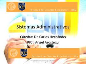 Sistemas Administrativos