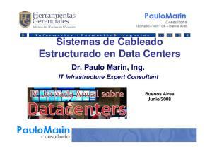 Sistemas de Cableado Estructurado en Data Centers