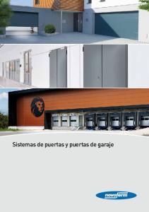 Sistemas de puertas y puertas de garaje