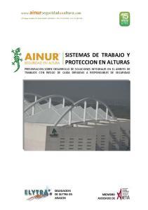 SISTEMAS DE TRABAJO Y PROTECCION EN ALTURAS