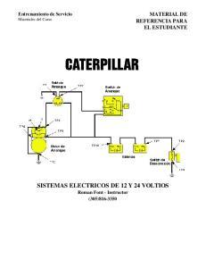SISTEMAS ELECTRICOS DE 12 Y 24 VOLTIOS