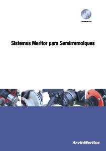 Sistemas Meritor para Semirremolques
