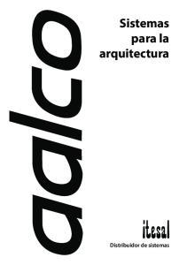 Sistemas para la arquitectura
