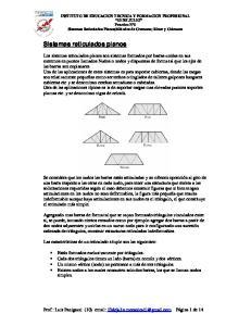 Sistemas reticulados planos