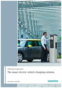 Sitraffic Epos charging system. The smart electric vehicle charging solution