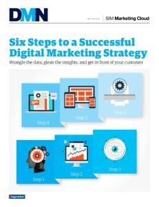 Six Steps to a Successful Digital Marketing Strategy
