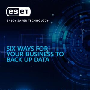 SIX WAYS FOR YOUR BUSINESS TO BACK UP DATA