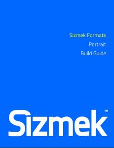 Sizmek Formats Portrait Build Guide