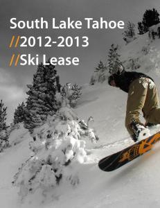 Ski Lease
